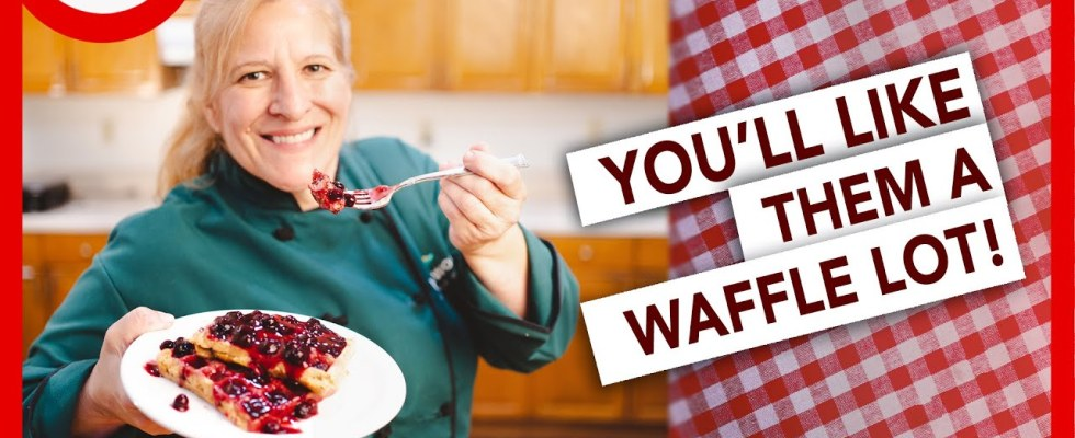 TASTY Healthy Plant-Based WAFFLE Recipe That Will Blow Your Mind