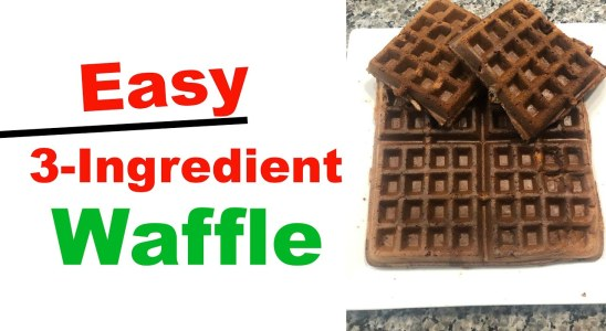 THE BEST 3 INGREDIENT WAFFLES - WEIGHT LOSS WEDNESDAY - EPISODE 192