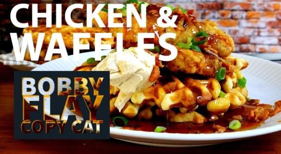 CHICKEN AND WAFFLES BOBBY FLAY COPYCAT RECIPE