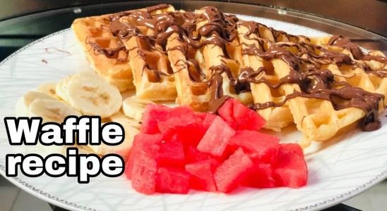 Homemade Waffles Recipe | How to Make perfect Homemade Waffles | Waffles Recipe