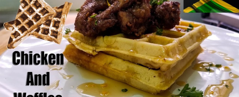 How To Make Chicken And Waffles | Best Chicken And Waffles | Fried Chicken | Homemade Waffles