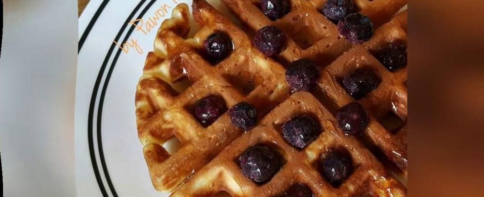 Recipe: Delicious Yogurt Waffle