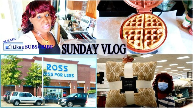 SUNDAY VLOG | KETO WAFFLE RECIPE & RIDE WITH ME TO ROSS Y'ALL!