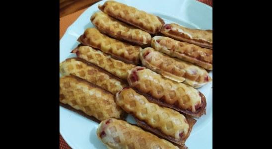 Super Easy Waffle Hotdog Recipe. Perfect pang-tinda!