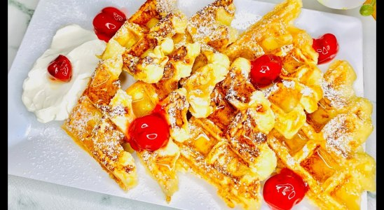 The Best Fluffy Homemade Waffles Recipe