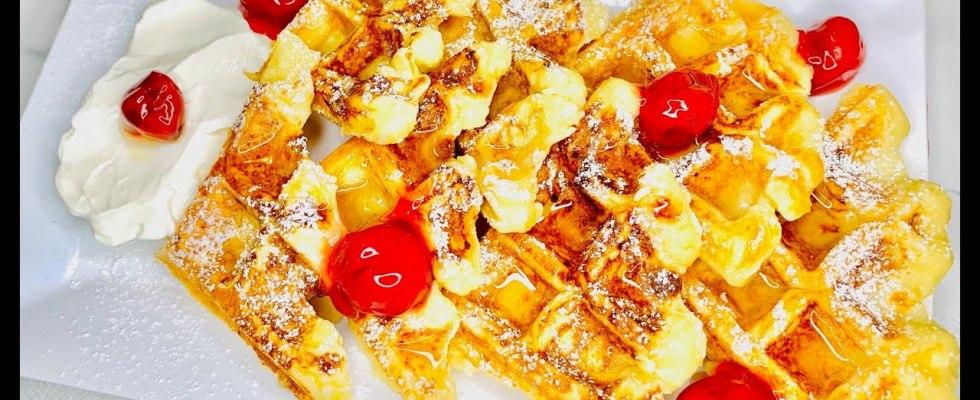 The Best Fluffy Homemade Waffles Recipe