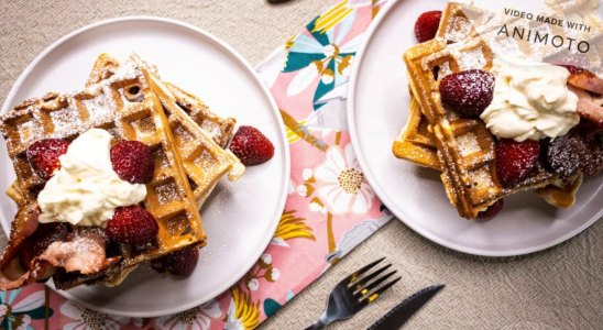 Belgian Style Waffles