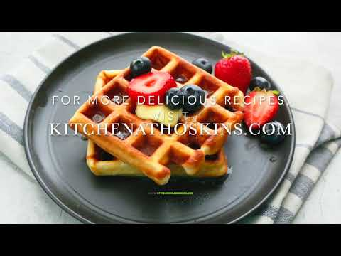 Best Belgian Waffles Recipe