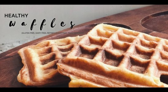 Easiest single serve waffles (paleo, GF, DF, refined-sugar free)