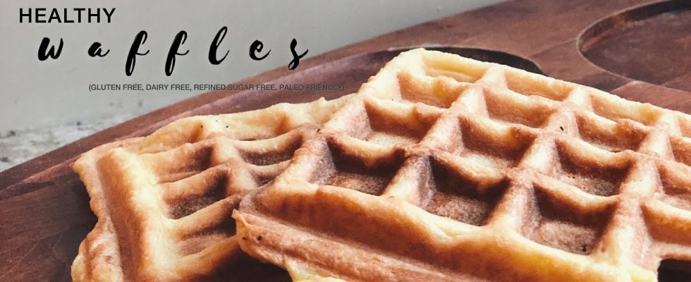 Easiest single serve waffles (paleo, GF, DF, refined-sugar free)