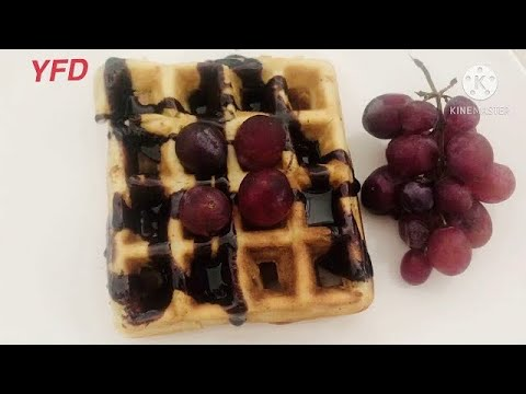 Easy Homemade Belgian Waffles Recipe