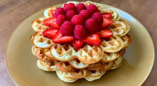 Easy Waffles Recipe | Mish.Jade