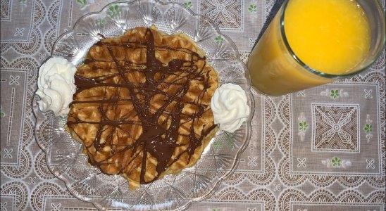 Homemade Waffle Recipe | Little Chef | easy recipe