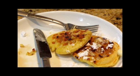 Homemade Waffles Twisted By Linda's Pantry