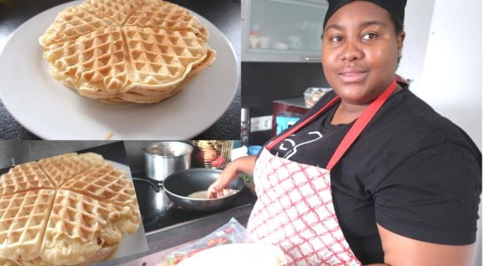 I TRIED MAKING WAFFLES FOR THE FIRST TIME | THE MOFOR FAMILY