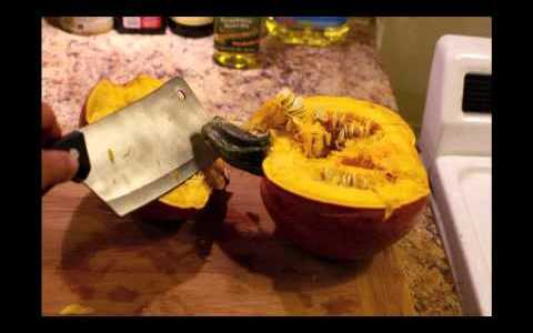 Quick Tip: Pumpkin Puree Recipe/How To for Pumpkin Waffles