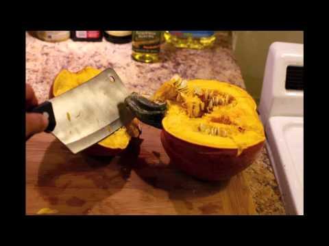 Quick Tip: Pumpkin Puree Recipe/How To for Pumpkin Waffles