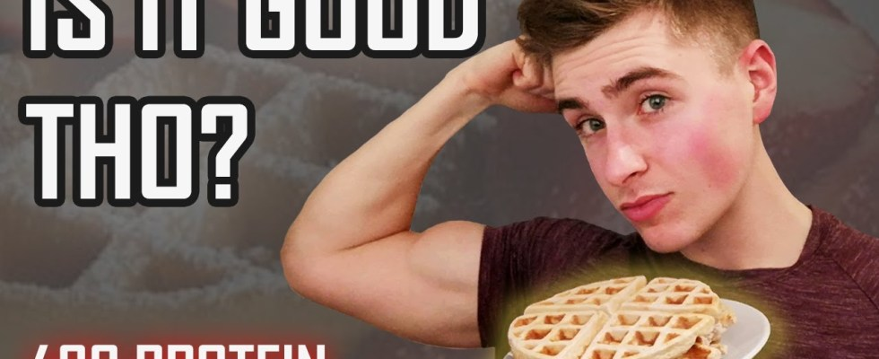 Remington James' Anabolic Waffles REVIEW - High Protein Low Calorie Dessert Recipe