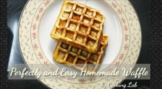 Homemade Waffle||Easy Homemade Waffles||#