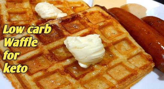 Almond Flour Waffle | How to make waffle | Keto waffle recipe |