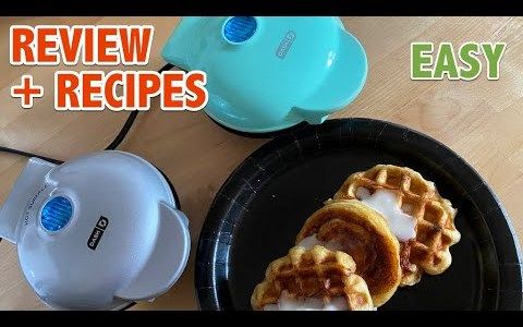 Dash Mini Griddle and Waffle Maker Review + Recipes
