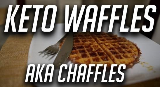 Fitness Journey Vlog #8 | Keto Waffle Recipe