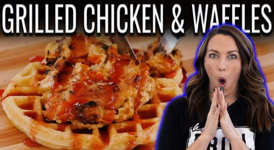 Grilled Chicken and Waffles?! OH MAN!!!   Backyard Test Kitchen