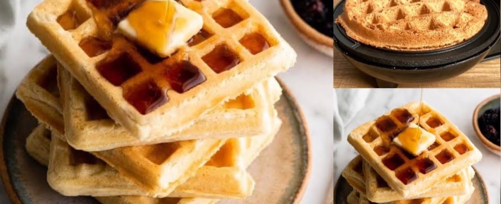 Vegan Coconut Waffles Recipe - Delicious Way to Start Your Day ..!!!