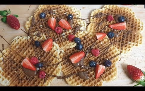 How to make Belgian waffles/ Belgian waffle recipe/ Cup of cooking