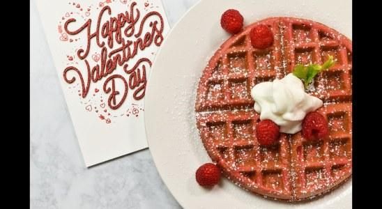 Red Velvet Waffles Recipe | Vicky Cakes