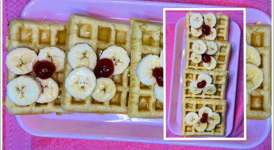 Homemade Waffles Recipe Quick And Tasty | Quick Cooking