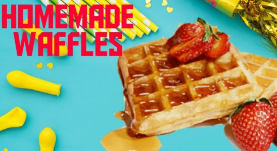 How to make perfect home made waffles.#breakfast recipes