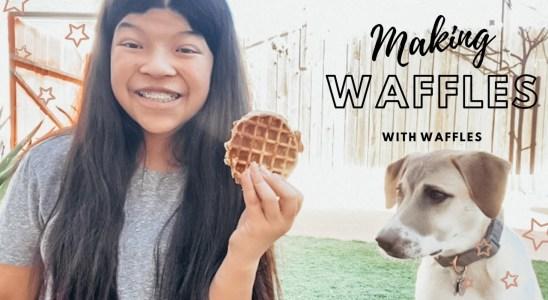 Making Waffles With Waffles-- Waffles' Wednesday Ep. 4