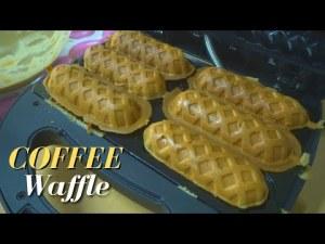 COFFEE Waffle Recipe   Fluffy Waffles