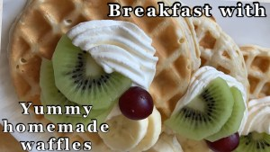 Easy Homemade Waffles Recipe   Perfect Waffle Recipe   Life Is Full Of Adventures