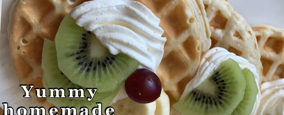 Easy Homemade Waffles Recipe|| Perfect Waffle Recipe|| Life Is Full Of Adventures