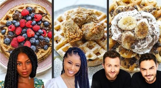 I Tested 3 YouTuber Vegan Waffles Recipes | The Chic Natural, Rachel Ama, & BOSH!