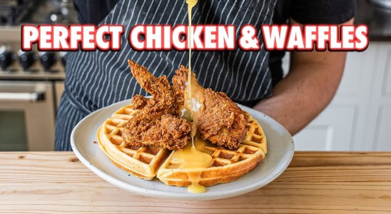 Perfect Homemade Chicken and Waffles (2 ways)