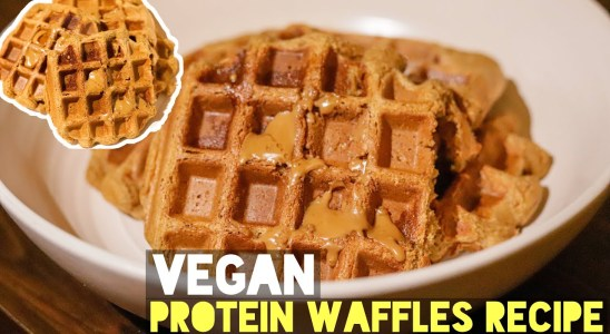 Simple and Easy Vegan Protein Waffles | Recipe (Must Try)