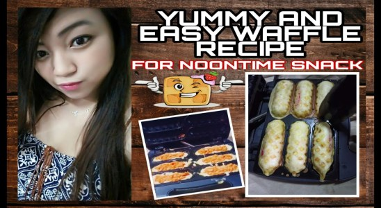 ANNE-SARAP PRESENTS: YUMMY AND EASY WAFFLE RECIPE / PERFECT FOR NOONTIME SNACK