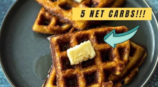 Crispy Keto Waffles