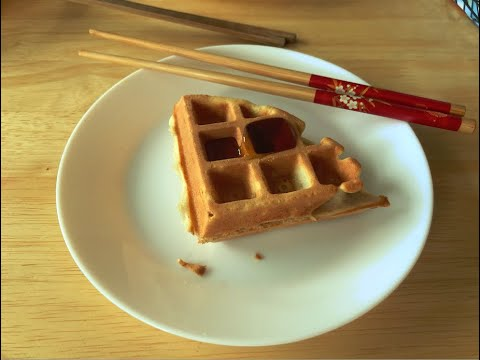 Making Belgian Style Waffles for Dinner | Vlog