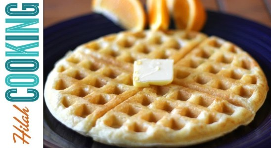 Cooking Tutorial Videos | How To Make Waffles | Hilah Cooking