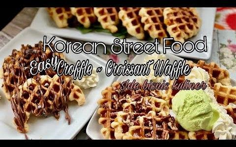 Easy Croffle ~ Croissant Waffle Recipe || Korean Street Food II Must Try / Wajib di coba