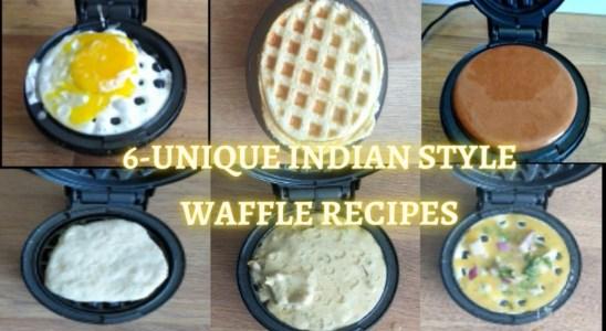6-Best Healthy Breakfast ideas | Indian Style waffle recipes | Kids snacks | CraftChips