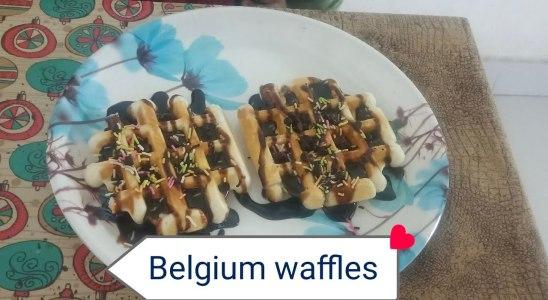 Belgium  waffles / Easy waffles recipe