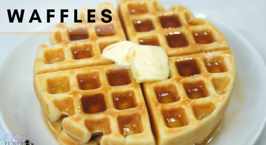 HOW TO MAKE THE BEST HOMEMADE WAFFLES | Easy Waffle Recipe