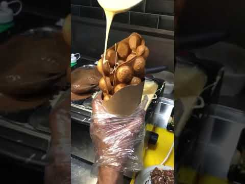 How to make Waffle   Chocolate Waffle   Making   Waffle Recipe   Foodbykaran