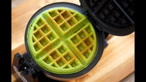 Matcha Waffles - Simple and Easy