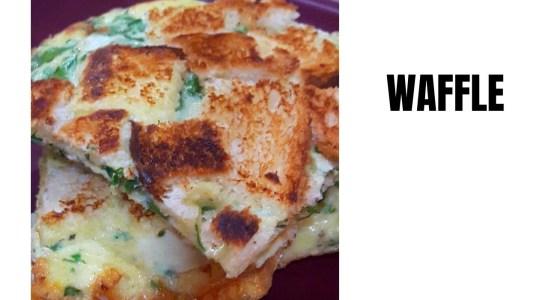 #Shorts#Waffle I Cheesy Waffle I instant recipe I Quick and easy to make #Waffle